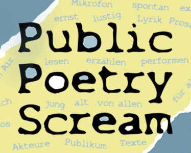 Logo Veranstaltung Public Poetry Scream